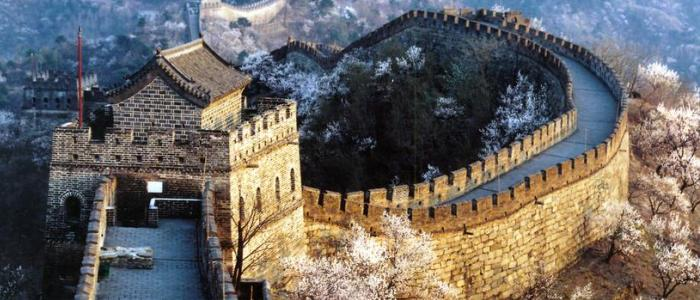 The Great Wall of China has always been one of the country's main attractions. Stretching for miles, it still is.