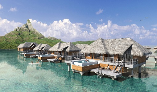 InterContinental Hotels Bora Bora Resort Thalasso Spa - Photo #3