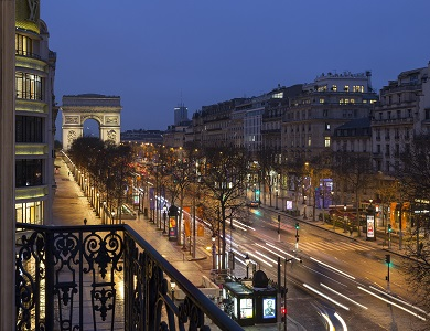 Hotel Fouquet's Barriere Paris - Photo #3