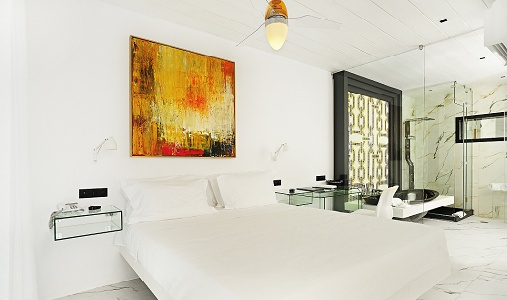 Kivotos hotel mykonos greece classic travel for Cube suites istanbul