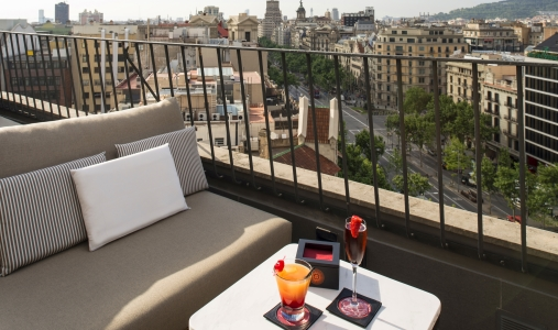 Classictravel.com-Virtuoso-Majestic Hotel & Spa-rooftop-terrace