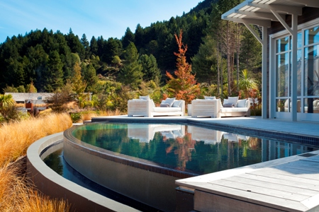 Matakauri lodge queenstown new zealand classic travel - Luxury hotels in madrid with swimming pool ...